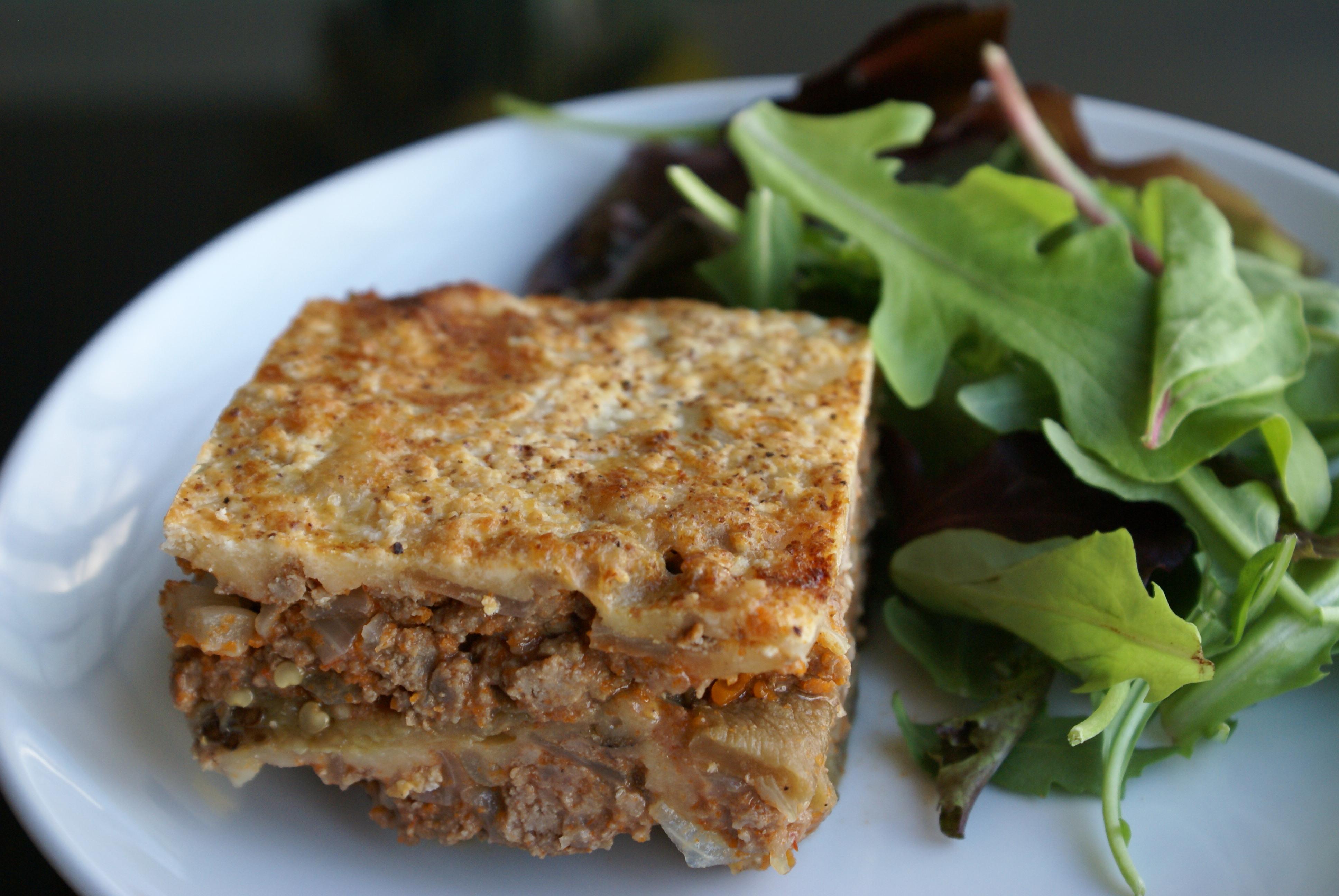 Beef & Eggplant Lasagna