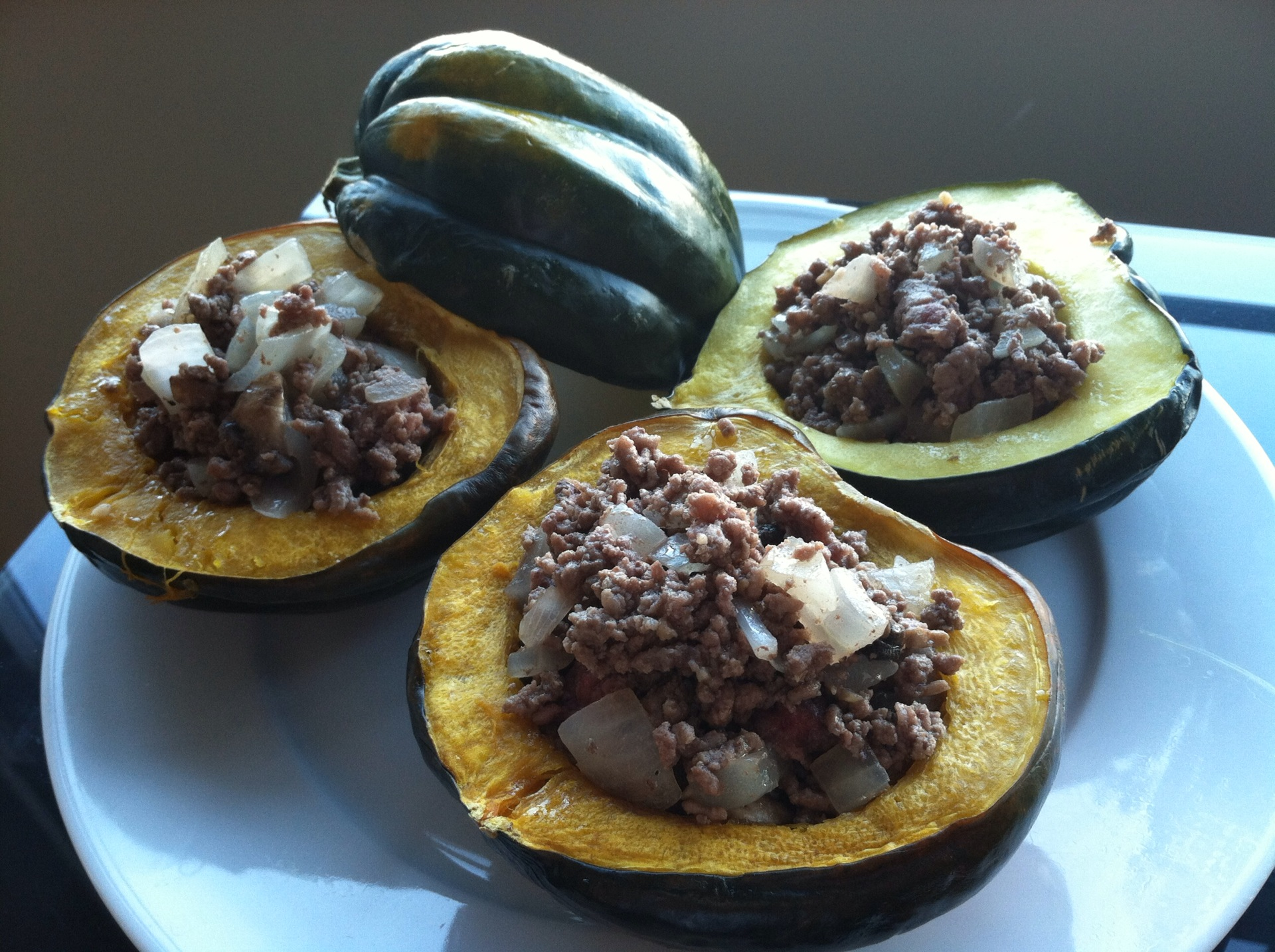 Stuffed acorn squash with ground beef ingredients forumfinder Images